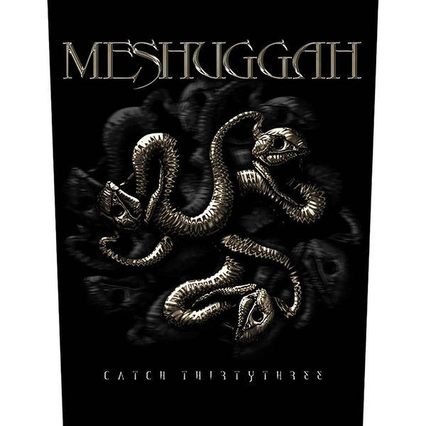 Meshuggah - Catch 33 Back Patch