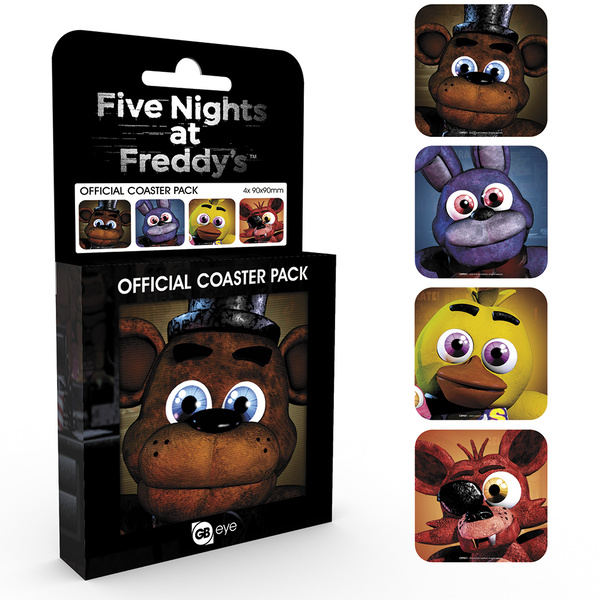 Five Nights At Freddys Characters Coaster Pack - Image 1