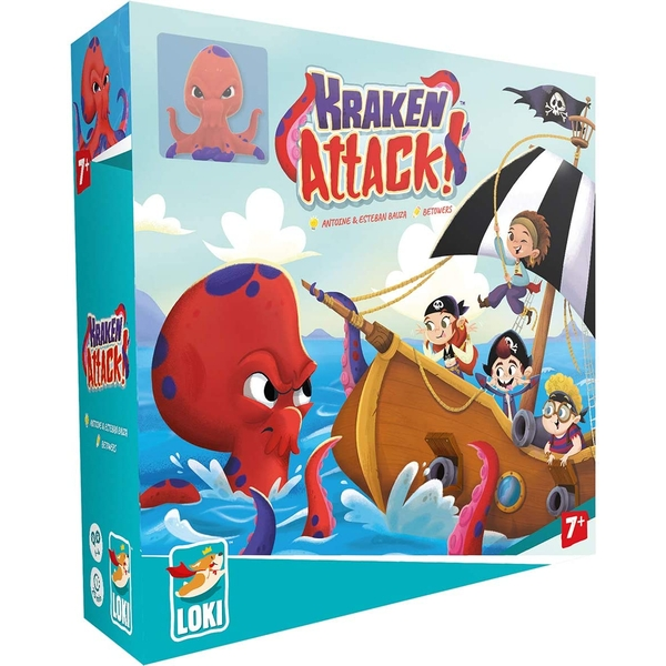 Kraken Attack Board Game