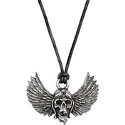 Airbourne - Winged Skull Necklace