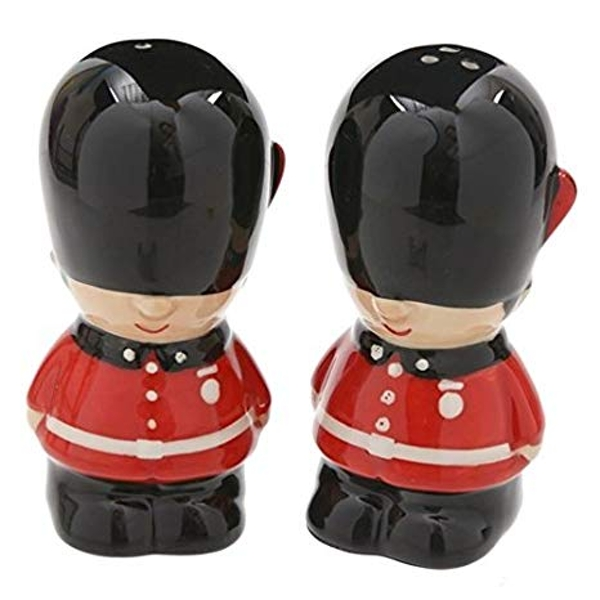 Guardsman Ceramic Salt and Pepper Set