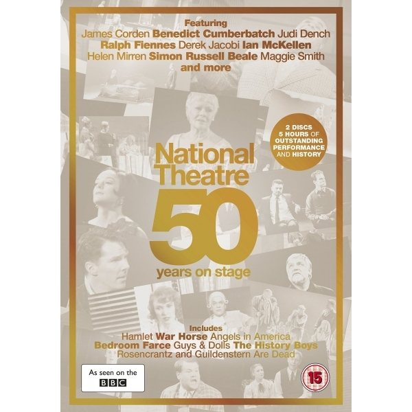 National Theatre Live: 50 Years on Stage DVD