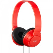 JVC HAS180RN Powerful Bass Headphones Red