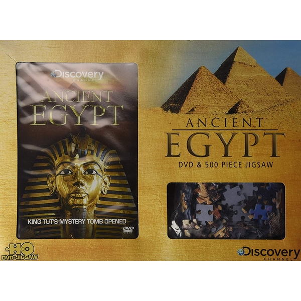 Discovery Channel - Ancient Egypt Gift Set Jigsaw + DVD