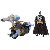 Batman Missions Air Power Bat Cycle Figure and Vehicle Toy