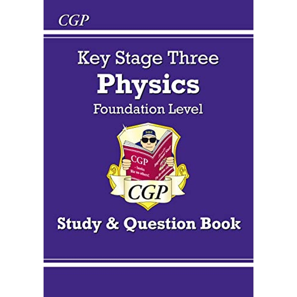 KS3 Physics Study & Question Book (with Online Edition) - Foundation by CGP Books (Paperback, 2014)
