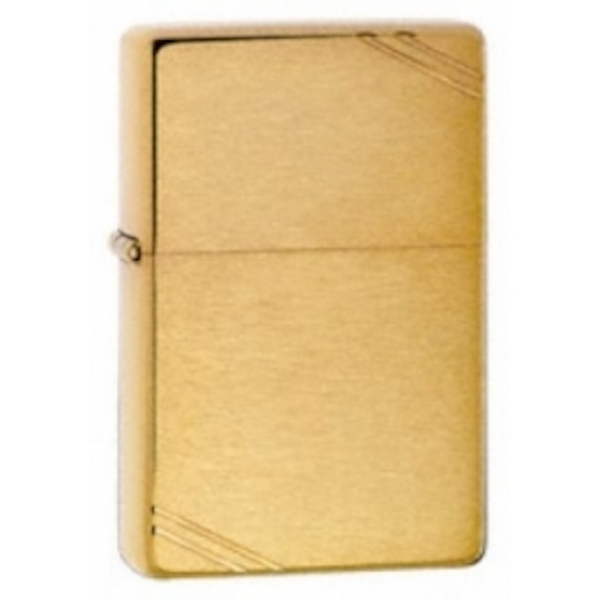 Zippo Vintage Brushed Brass Windproof Lighter