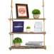 Wooden Hanging Shelf | M&W 3 Tier - Image 4