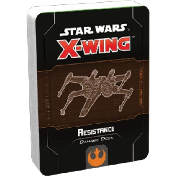 Star Wars X-Wing: Second Edition Resistance Damage Deck