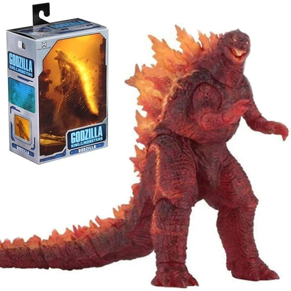 Godzilla Burning King of The Monsters 12 Inch Head to Tail NECA Action Figure [Damaged Packaging]