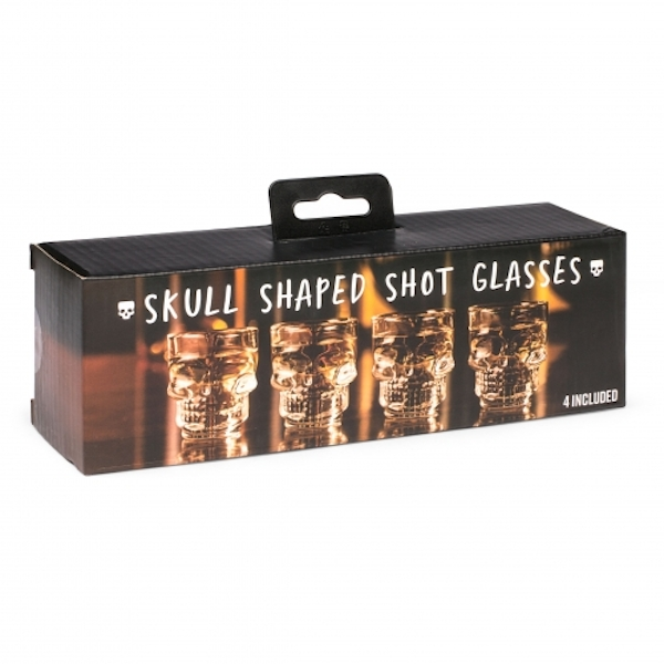 Thumbs Up Skull Shot Glasses