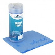 SwimTech Sports Towel 43 x 32cm - Blue