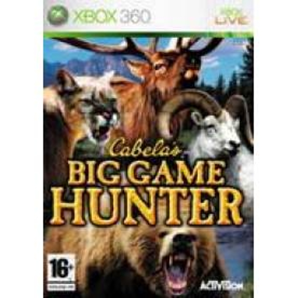 Cabelas Big Game Hunter Game Xbox 360