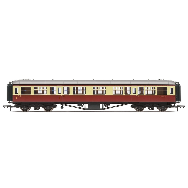 Hornby BR 63' Hawksworth Corridor Composite W7803W Era 4 Model Train