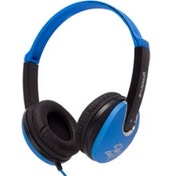 Groov-e Kidz DJ Style Headphones Blue and Black