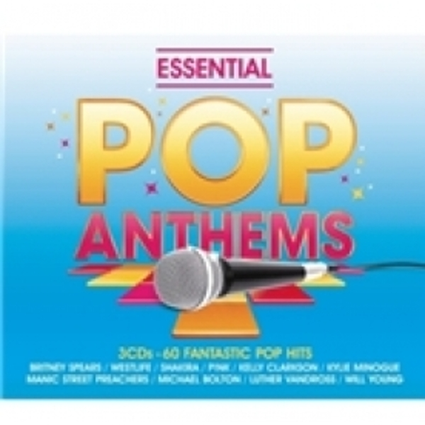 Essential Pop Anthems Classic 80s 90s and Current Chart Hits CD