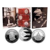 The Godfather Collectable Coin Set (Silver)
