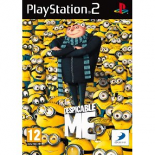 Despicable Me The Video Game PS2