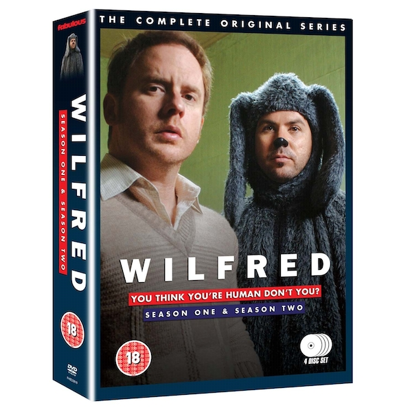 Wilfred - Series 1-2 - Complete DVD 4-Disc Set Box-set