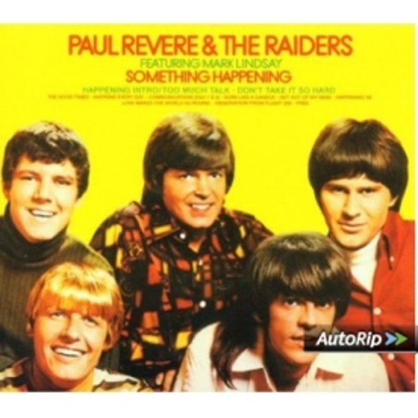Paul Revere & The Raiders - Something Happening CD