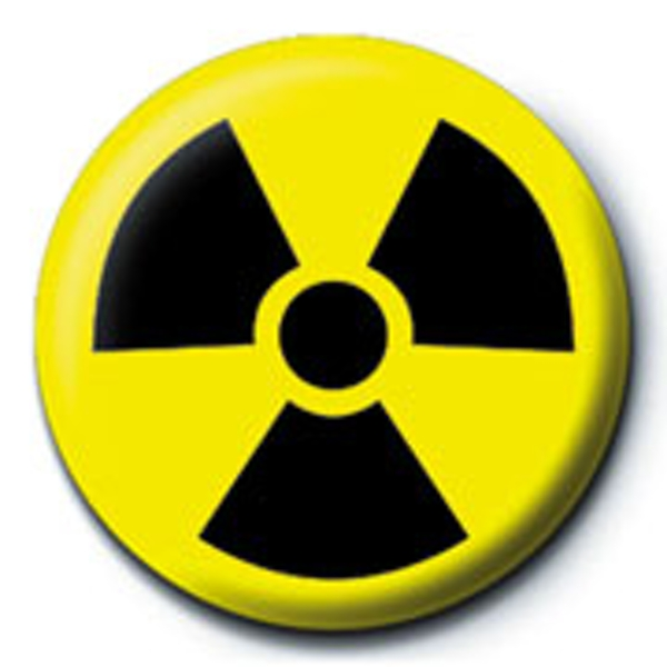 Toxic Waste - Symbol Badge