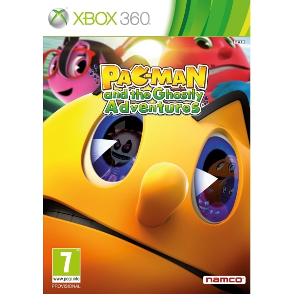 Pac-Man And The Ghostly Adventures Game Xbox 360 - Image 1