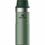 Stanley Classic Trigger-Action Travel Mug 0.47L Hammertone Green