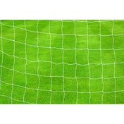 Precision Football Goal Nets 2.5mm Knotted (Pair) 21' x 7' White