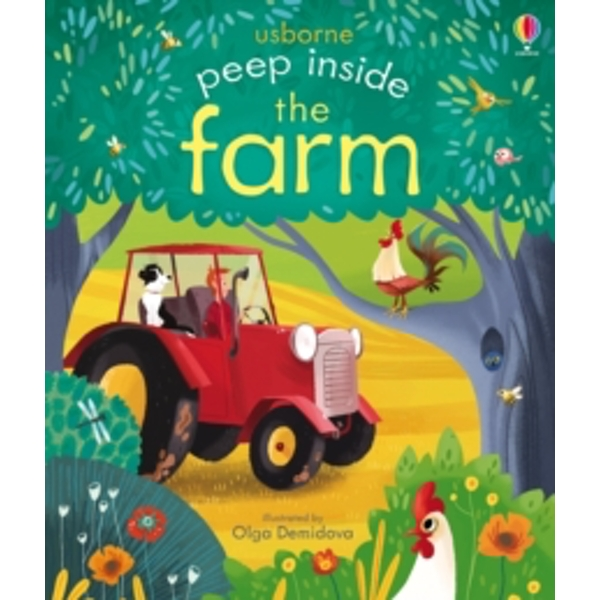 Peep Inside the Farm by Anna Milbourne (Board book, 2015)