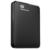 Western Digital Elements Portable USB Type-A 3.0 (3.1 Gen 1) 2000GB Black