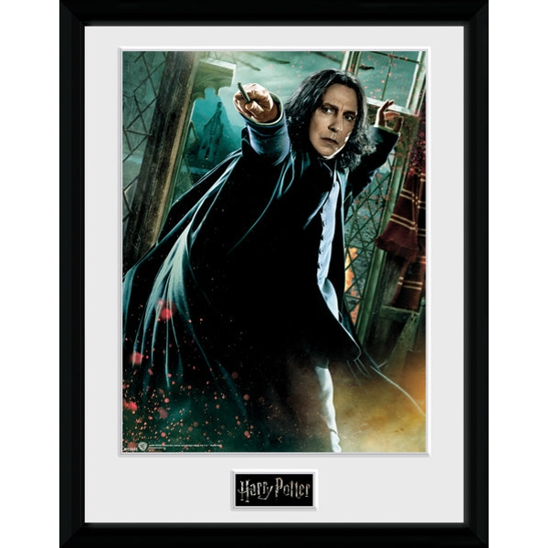 Harry Potter Snape Wand Framed Collector Print
