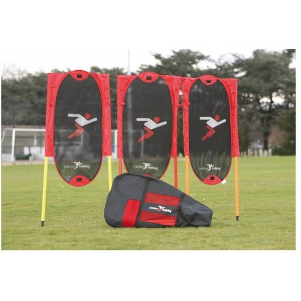 Precision Training Folding Free Kick Man Kit   poles
