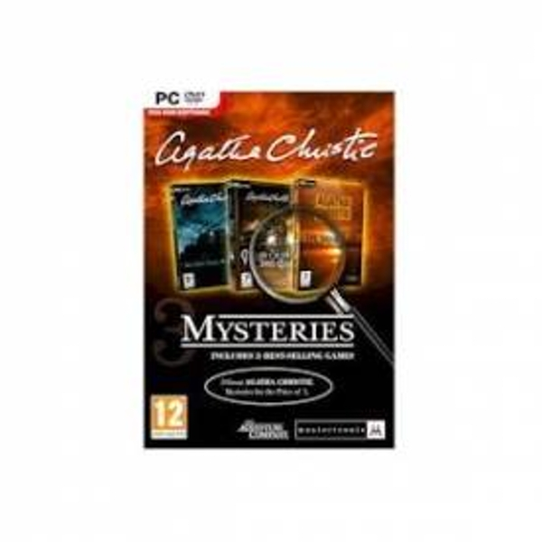Agatha Christie Triple Pack Mysteries Game PC
