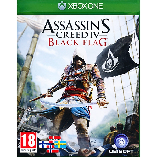 Assassins Creed 4 Black Flag [Nordic] Xbox One Game