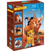 The Lion King 1-3 Box Set DVD