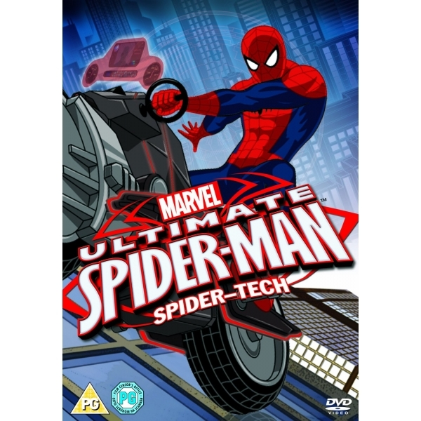 Ultimate Spider-Man Volume 1 Spider-Tech DVD