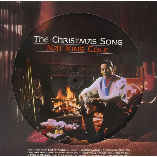 Nat King Cole - The Christmas Songs - Picture Disc Vinyl