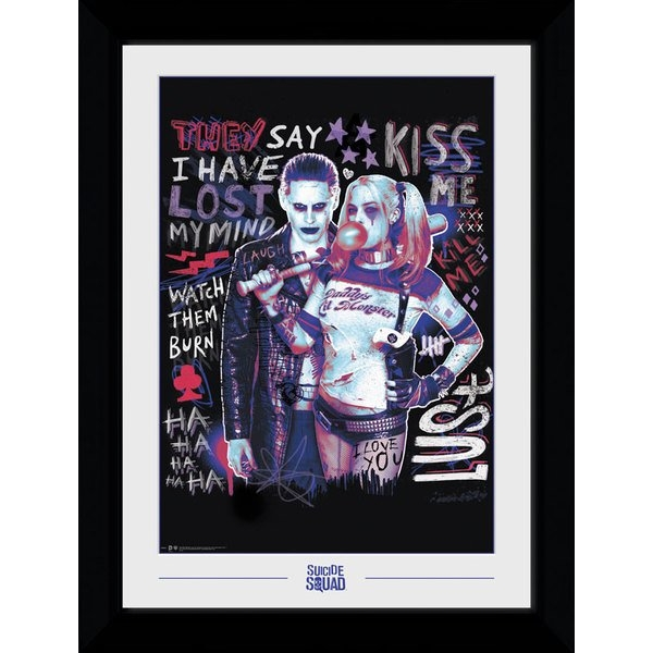 Suicide Squad Joker and Harley Collector Print
