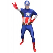Marvel Morphsuit Captain America Medium
