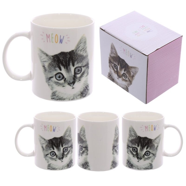 MEOW Kitten Design New Bone China Mug
