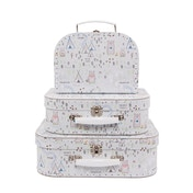 Sass & Belle Bear Camp Suitcases (Set of 3)