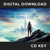 Sid Meier's Civilization Beyond Earth Rising Tide PC CD Key Download for Steam