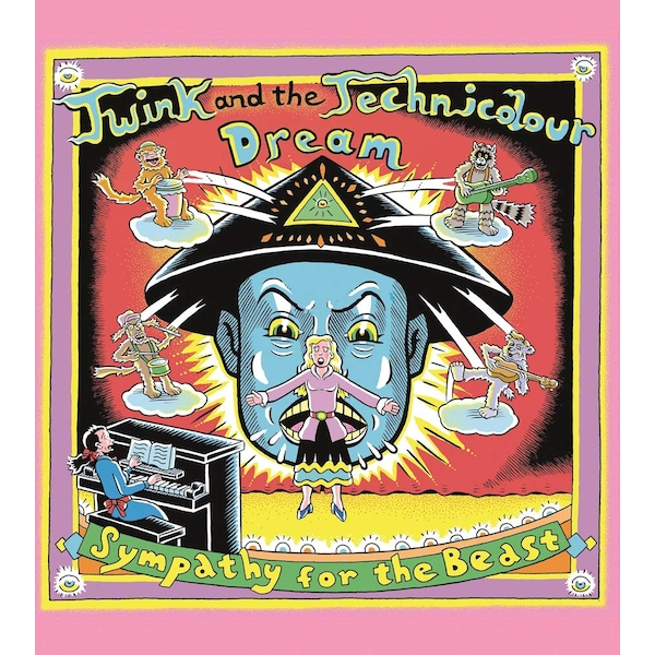 Twink And The Technicolour Dream - Sympathy For The Beast - Songs From The Poems Of Aleister Crowley (RSD 2019) Vinyl
