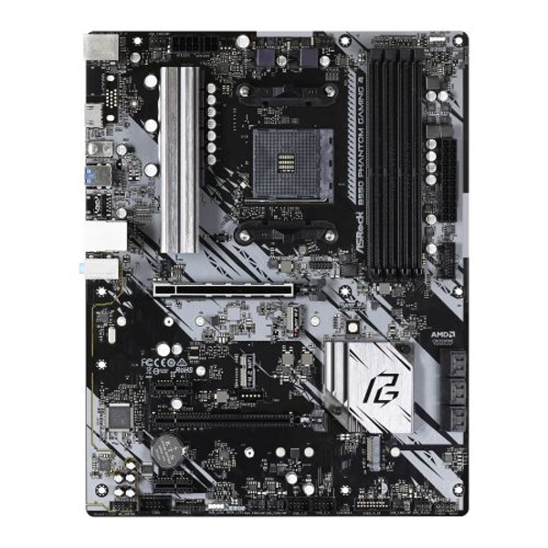 Asrock B550 PHANTOM GAMING 4, AMD B550, AM4, ATX, 4 DDR4, HDMI, XFire, PCIe4, M.2