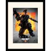 Call of Duty: Black Ops 4 - Battery Mounted & Framed 30 x 40cm Print