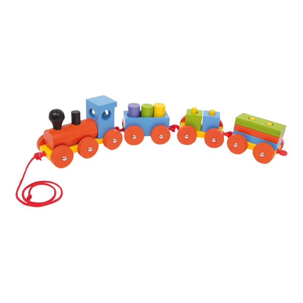 Legler - Small Foot Speedy Train Wooden Kid's Playset (Multi-colour)