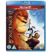 Disney The Lion King 3D 2D Blu-ray