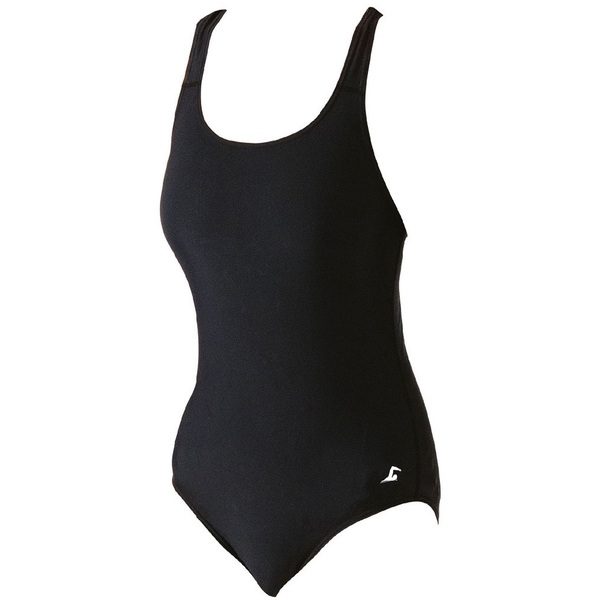 SwimTech Splashback Black Swimsuit Adult - 38 Inch