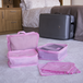 Suitcase Luggage Packing Cubes | Pukkr Pink - Image 4