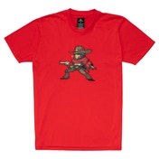Overwatch - Mccree Pixel Unisex Medium T-Shirt - Red